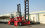 Commissioning Tests and Hand-over 02 units Brandnew Kalmar Emtpy Container Handler