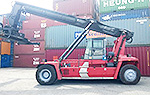 Handover 01 unit Kalmar Empty Reachstacker to our dear customer at Cat Lai terminal, Hochiminh City
