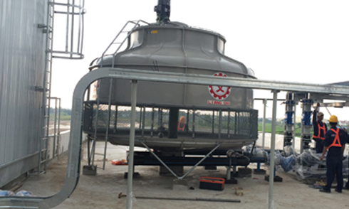 Install Cooling Tower IML
